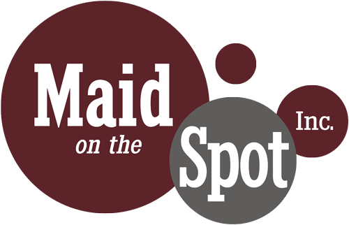 Maid On The Spot Inc. House Cleaning Service Logo